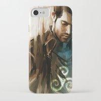 derek hale iPhone & iPod Cases featuring Derek Hale * Tyler Hoechlin  by AkiMao