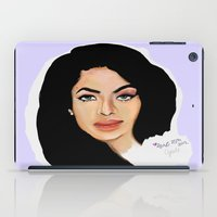 aaliyah iPad Cases featuring Aaliyah remembered  by Catheriney