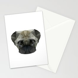 Mops Dog Stationery Cards