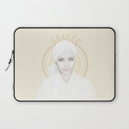 White Perfection Laptop Sleeve