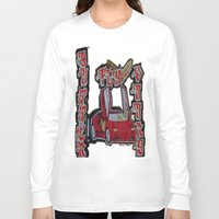 doors Long Sleeve T-shirts featuring Butterfly Doors by The Headlinez Collection™