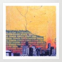 denver Art Prints featuring denver by Saari Shelhart