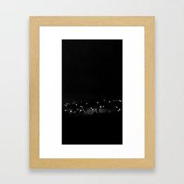 Big Country Lights Framed Art Print