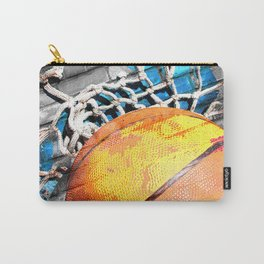 Basketball art swoosh vs 20 Carry-All Pouch