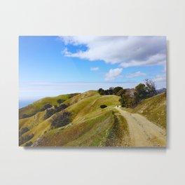 Big Sur coast trail Metal Print