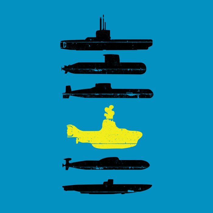 Know Your Submarines V2 Duvet Cover By Resistance Society6