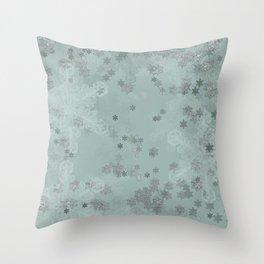 Snowflake Chrismas design Throw Pillow