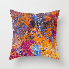 Mars Has Water  Throw Pillow