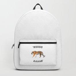 ROOOOAAAAR ! - Tiger Backpack