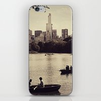 central park iPhone & iPod Skins featuring Central Park by C Liza B
