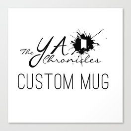 Custom Mug - Silver Canvas Print