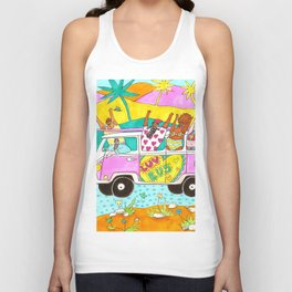 Roadtrip to California Unisex Tank Top