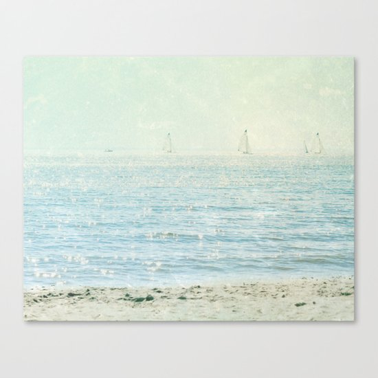 These Summer Days Canvas Print
