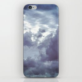 The Beauty of the Storm iPhone Skin