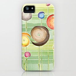 Blooms festival (of flowers and feelings) iPhone Case