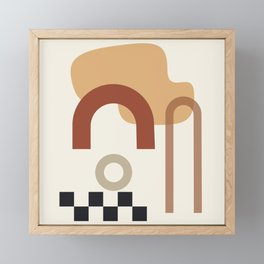 // Shape study #23 Framed Mini Art Print
