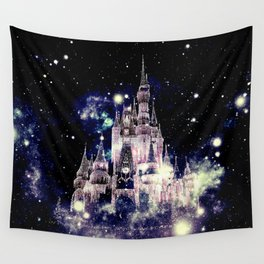 Celestial Palace Amethyst Wall Tapestry