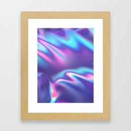 Bold Iridescence Framed Art Print