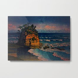 Bathing in Sunset Metal Print