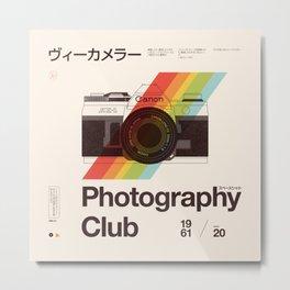 Photography Club Metal Print