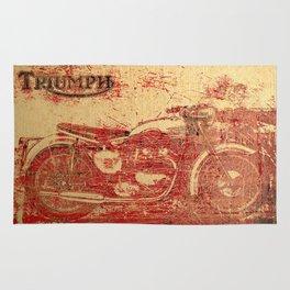 Triumph - Vintage Motorcycle Rug