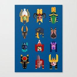 Egyptian Gods! Canvas Print