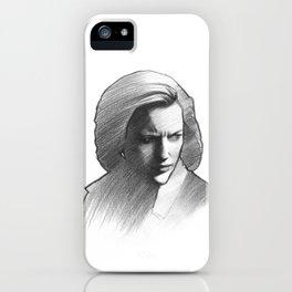 Dana Scully iPhone Case