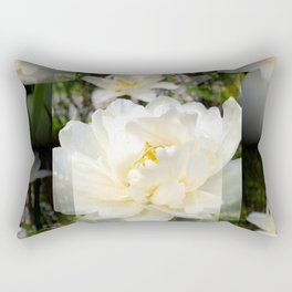 Reflections of spring Rectangular Pillow