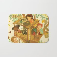 Our House In the Woods Bath Mat