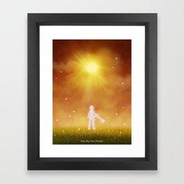 ONE SKY Framed Art Print