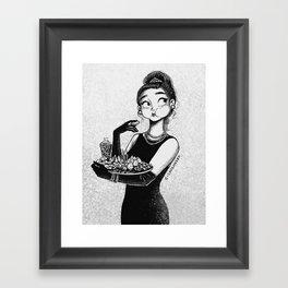 breakfast with Tiffany Framed Art Print