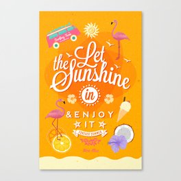 Let the Sunshine in 1 Canvas Print