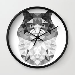 PolyCat Wall Clock