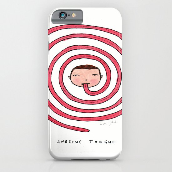 Awesome tongue iPhone & iPod Case