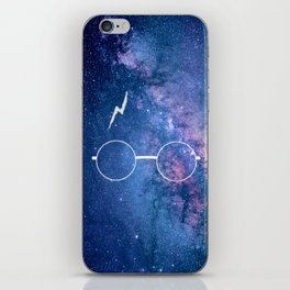 Nebula Lightning Scar HP iPhone Skin