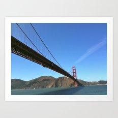 San Francisco Golden Gate Bridge Art Print