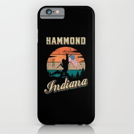 Hammond Indiana iPhone Case