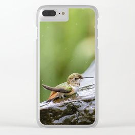 Birds Just Want to Have Fun Clear iPhone Case