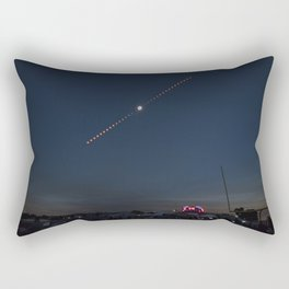 2017 Total Solar Eclipse 2 Rectangular Pillow