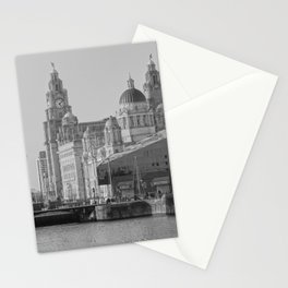 Three Graces Liverpool Stationery Cards