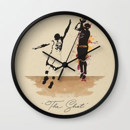 """""""The Shot"""" Kyrie Wall Clock"""