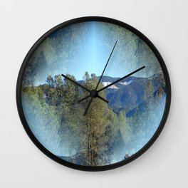 In the mountains... Wall Clock
