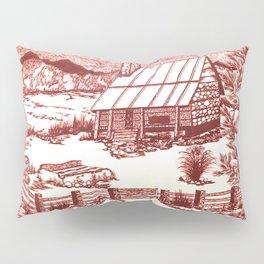 Mountain Cabin Rustic Pillow Sham