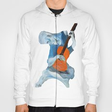 Picasso's Blue Man  Hoody