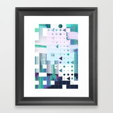 glytchwwt Framed Art Print