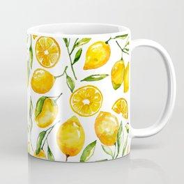 lemon watercolor print Coffee Mug