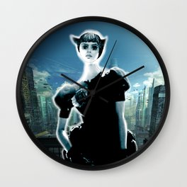 Kitten Jeanne Wall Clock