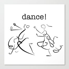 wisdom in dancing! Canvas Print
