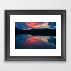 Llac de Banyoles Framed Art Print