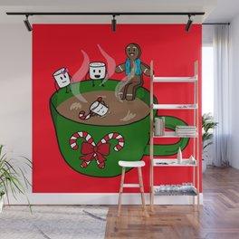 Relaxing Hot Cocoa Wall Mural